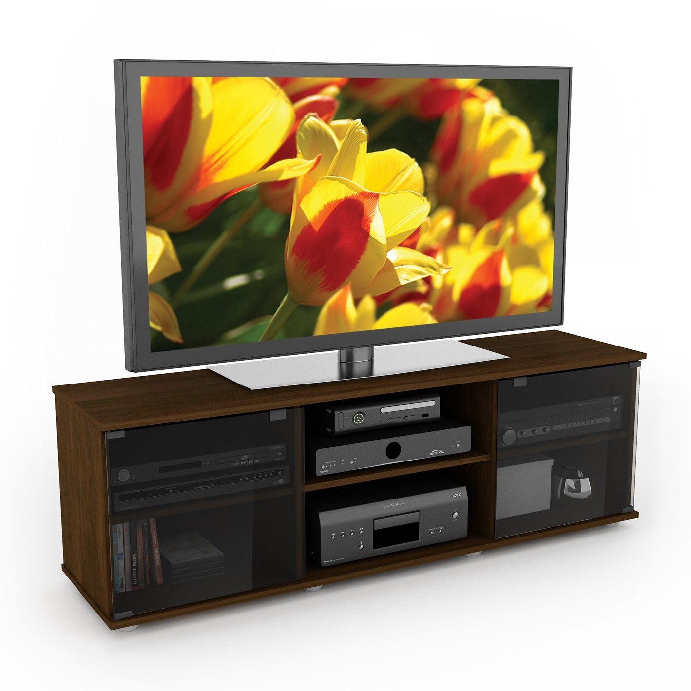 Well Known Sonax Fb 2607 Fiji Tv/component Bench, Urban Maple Finish $199 Home Within Maple Tv Stands For Flat Screens (View 20 of 20)