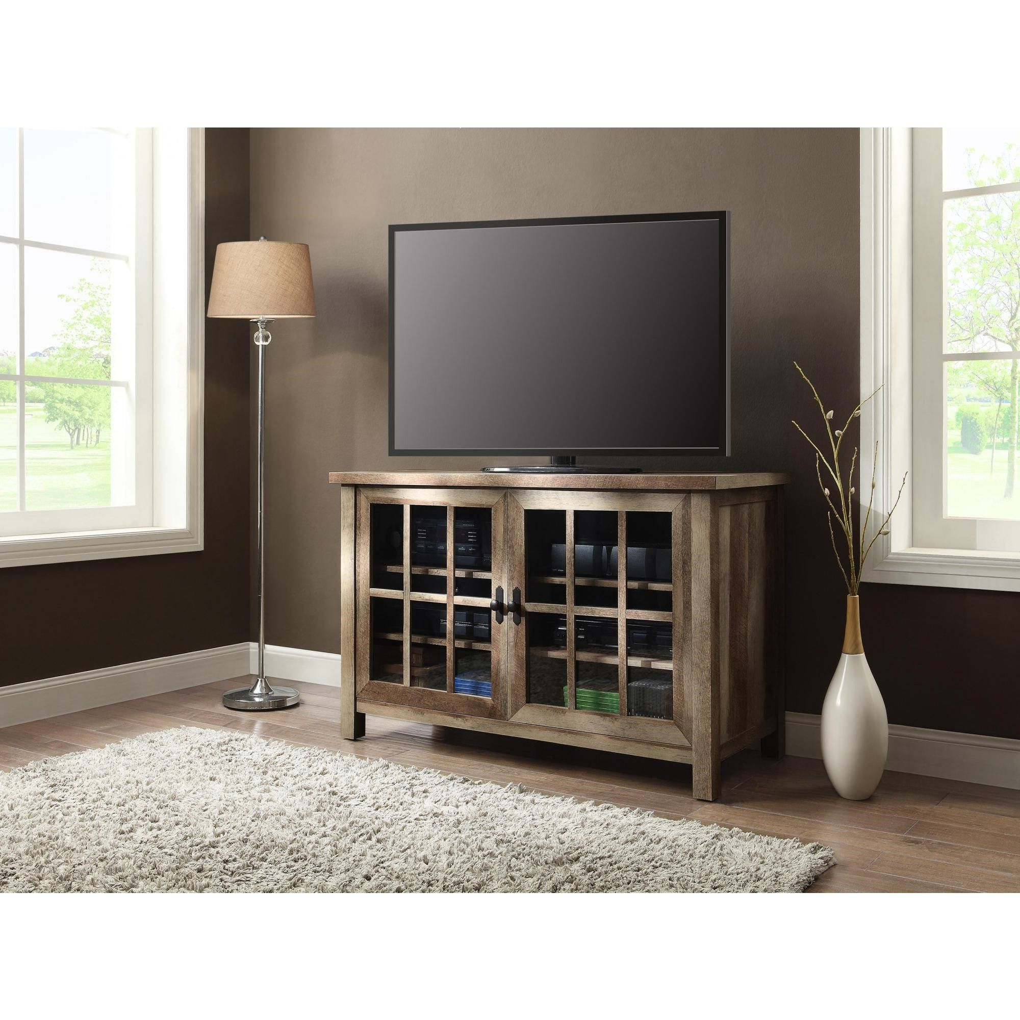 Well Known Square Tv Stands In Better Homes And Gardens Oxford Square Tv Console For Tvs Up To (View 2 of 20)