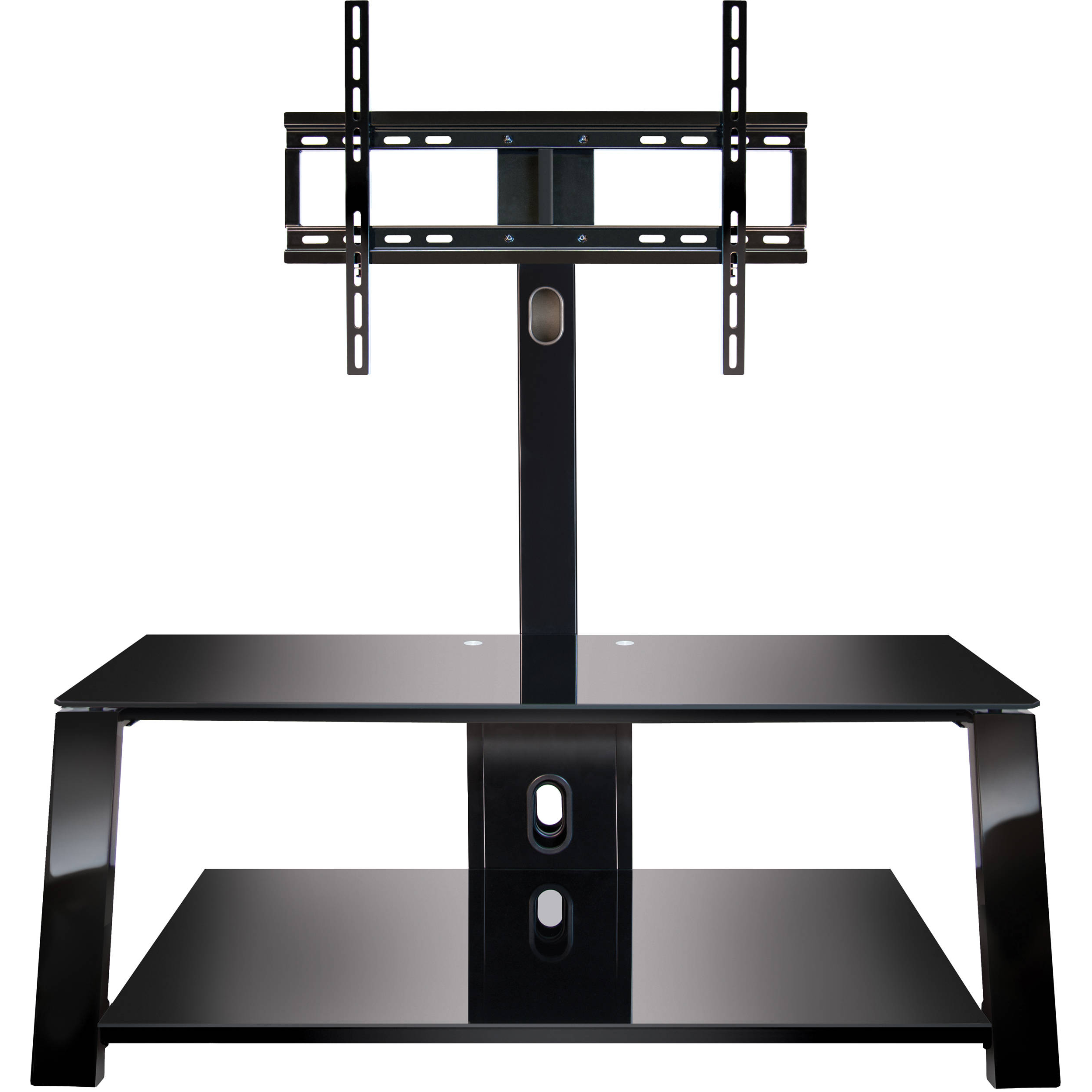 Well Known Swivel Tv Stands With Mount With Bell'o Tp4444 Triple Play Universal A/v System Tp4444 B&h Photo (View 19 of 20)
