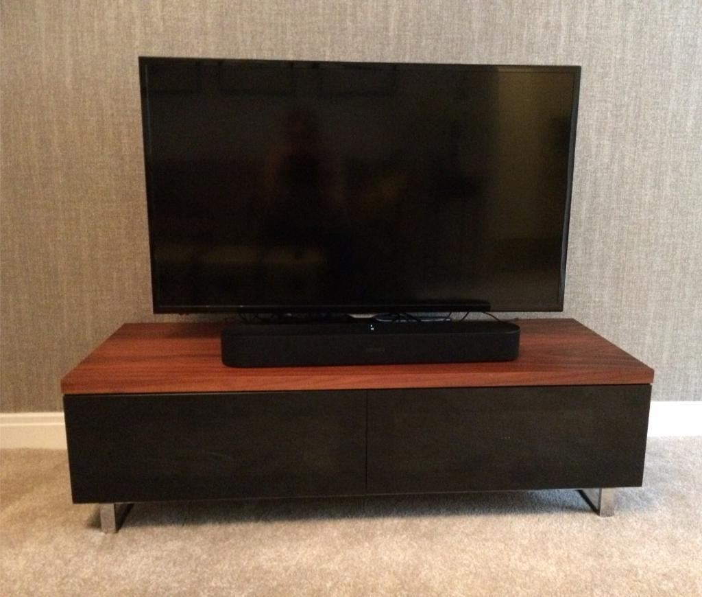 Well Known Techlink Panorama Walnut Tv Stands With Tv Stand Walnut – Techlink Panorama (Gallery 7 of 20)