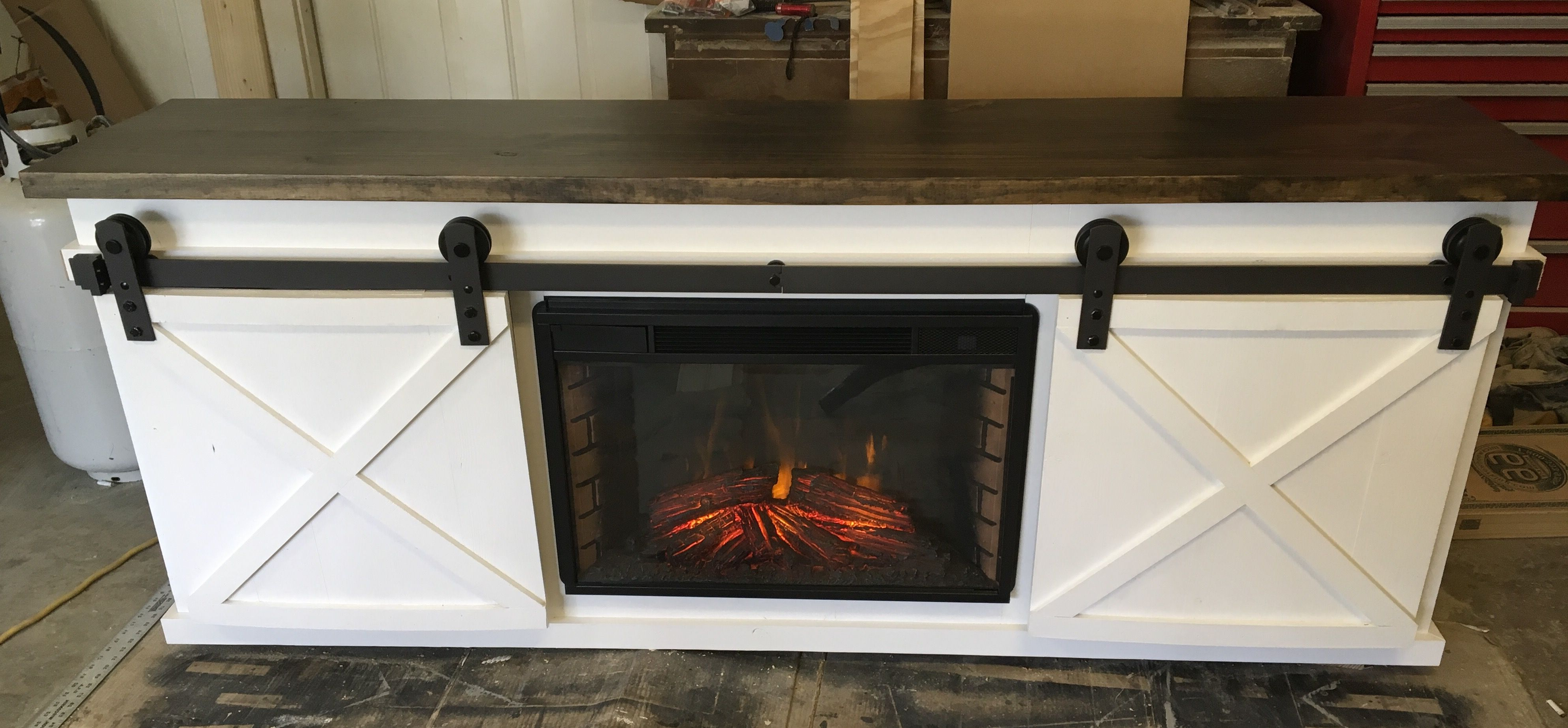 Well Known Tv Console With Fireplace Insert – Diy Projects (View 20 of 20)