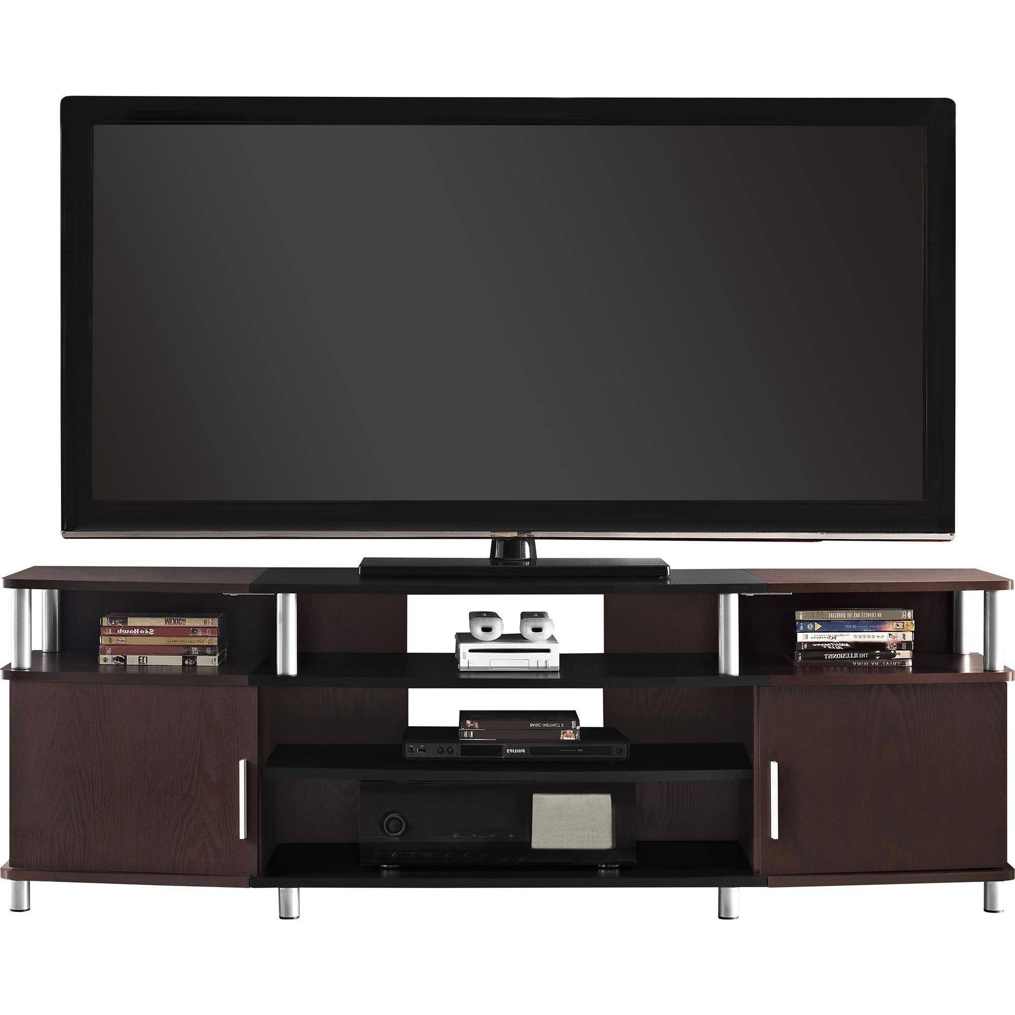 """Well Known Tv Stands For 70 Flat Screen Inside Ameriwood Home Carson Tv Stand 70"""" Home Entertainment Furniture (View 13 of 20)"""