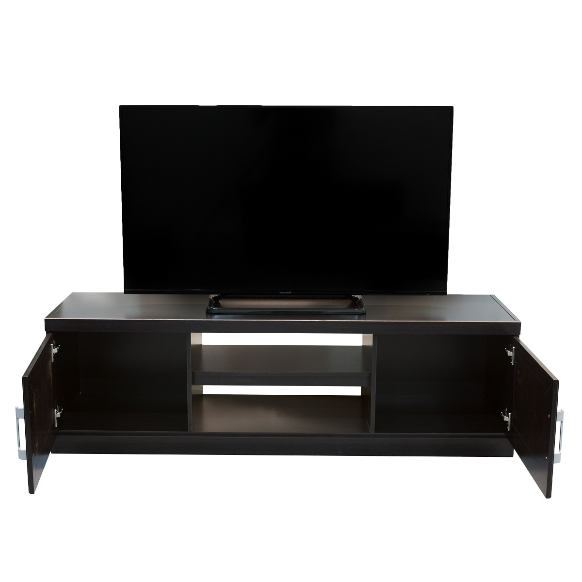 Well Known Wenge Tv Cabinets In York Dual Entertainment Unit Wenge (View 13 of 20)