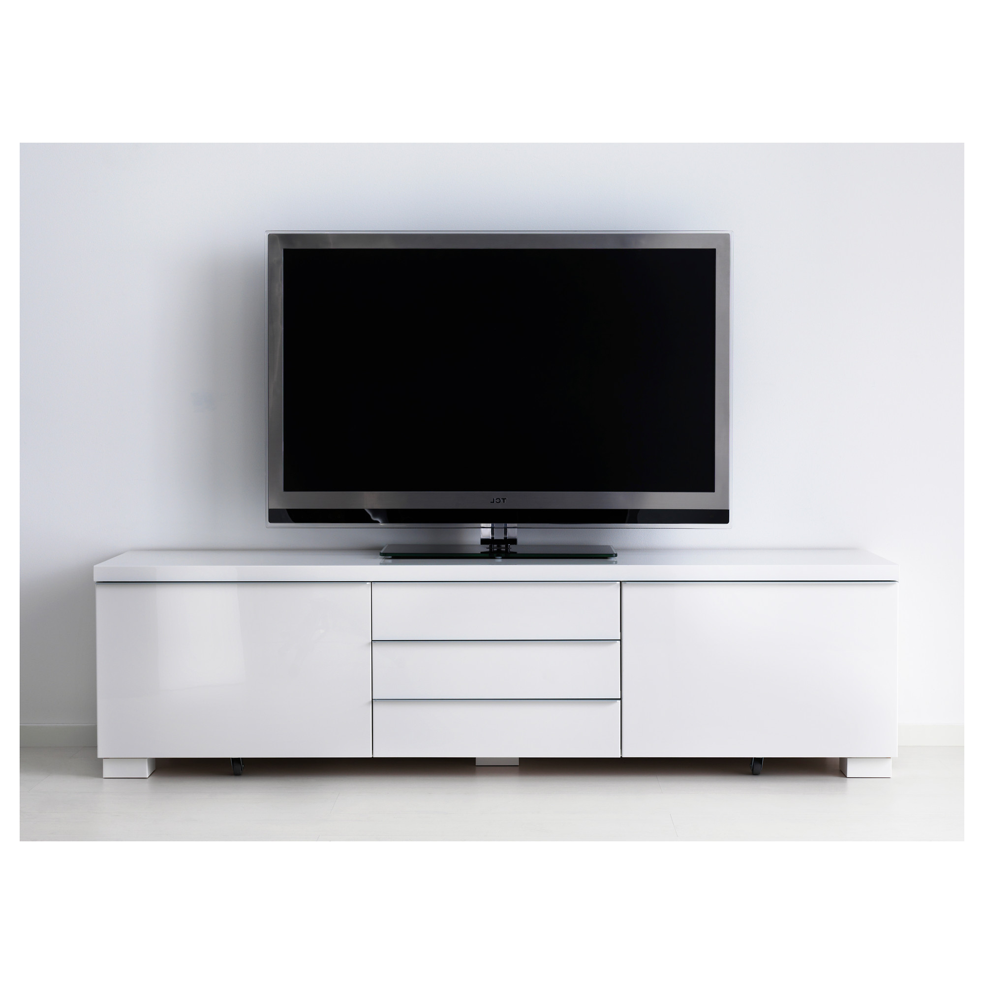 Well Known White Tv Cabinets In White Tv Cabinets With Doors – Image Cabinets And Shower Mandra (View 16 of 20)