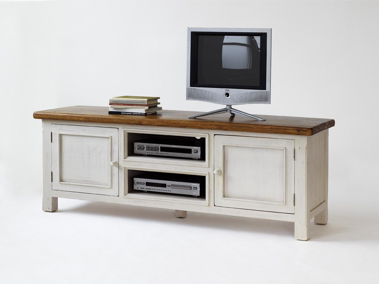 Well Known White Wood Furniture With White Wood Tv Stands (View 13 of 20)
