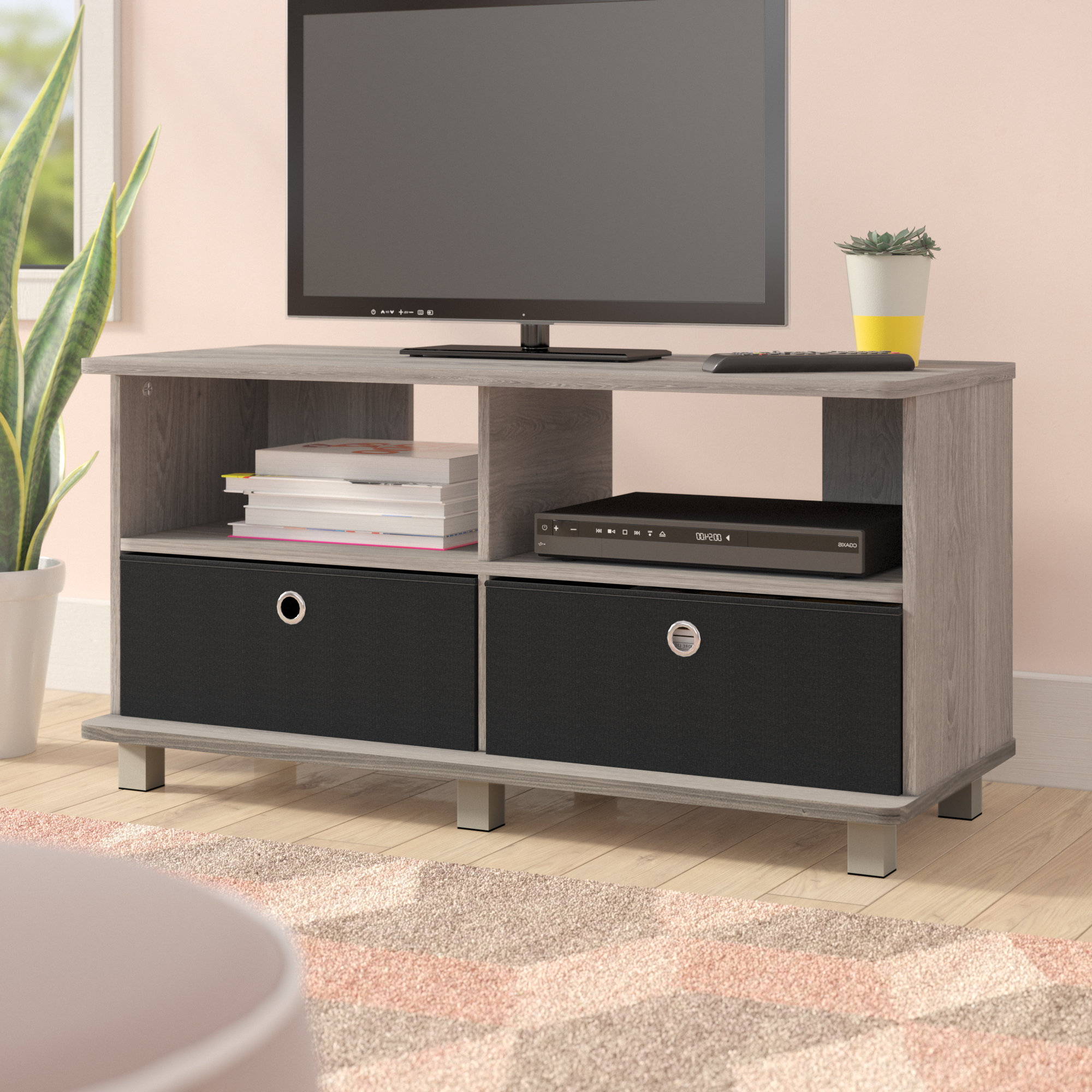 "Well Known Willa 80 Inch Tv Stands For Ebern Designs Mariaella Tv Stand For Tvs Up To 40"" & Reviews (View 11 of 20)"