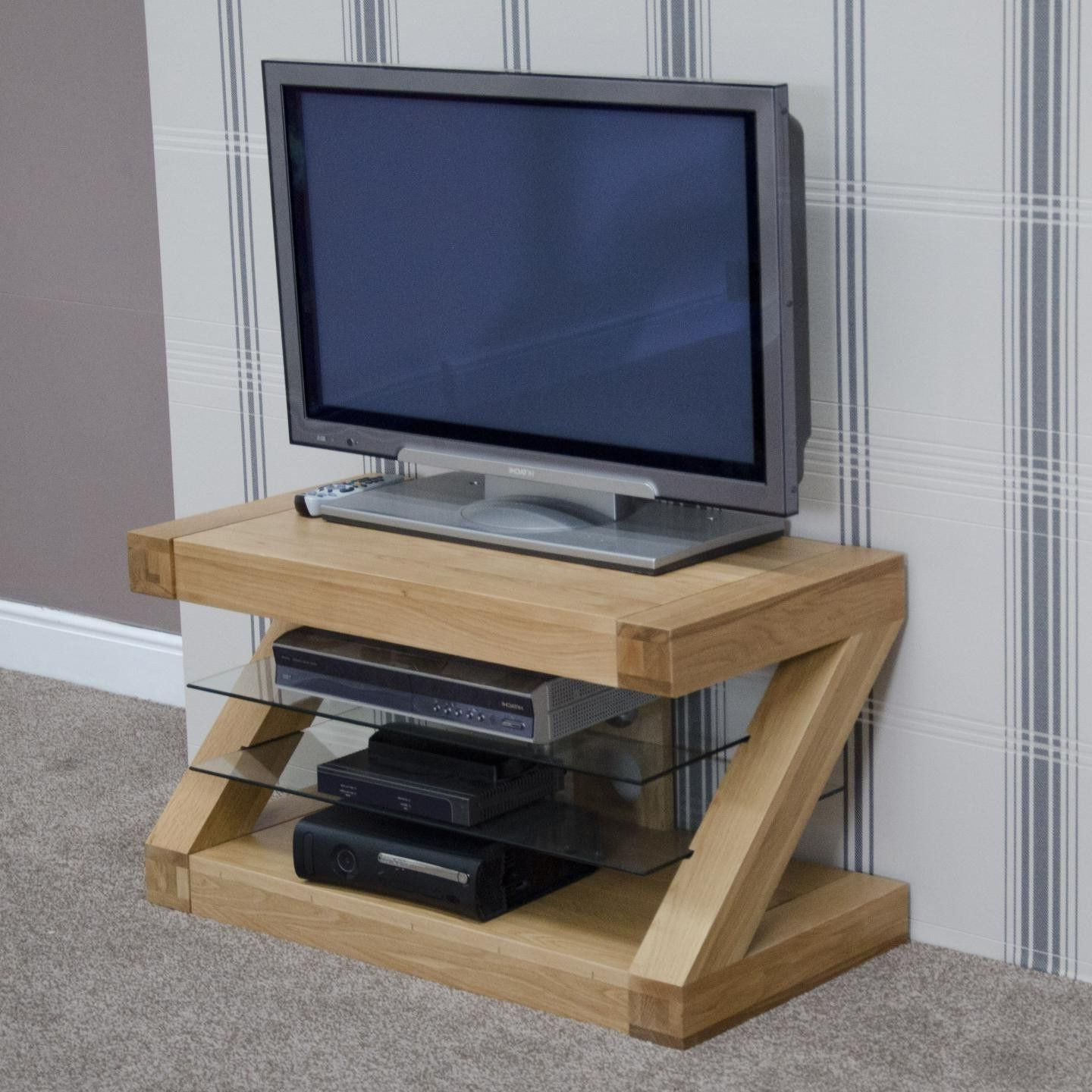 Well Known Zebra Oak Small Tv Unit (View 20 of 20)