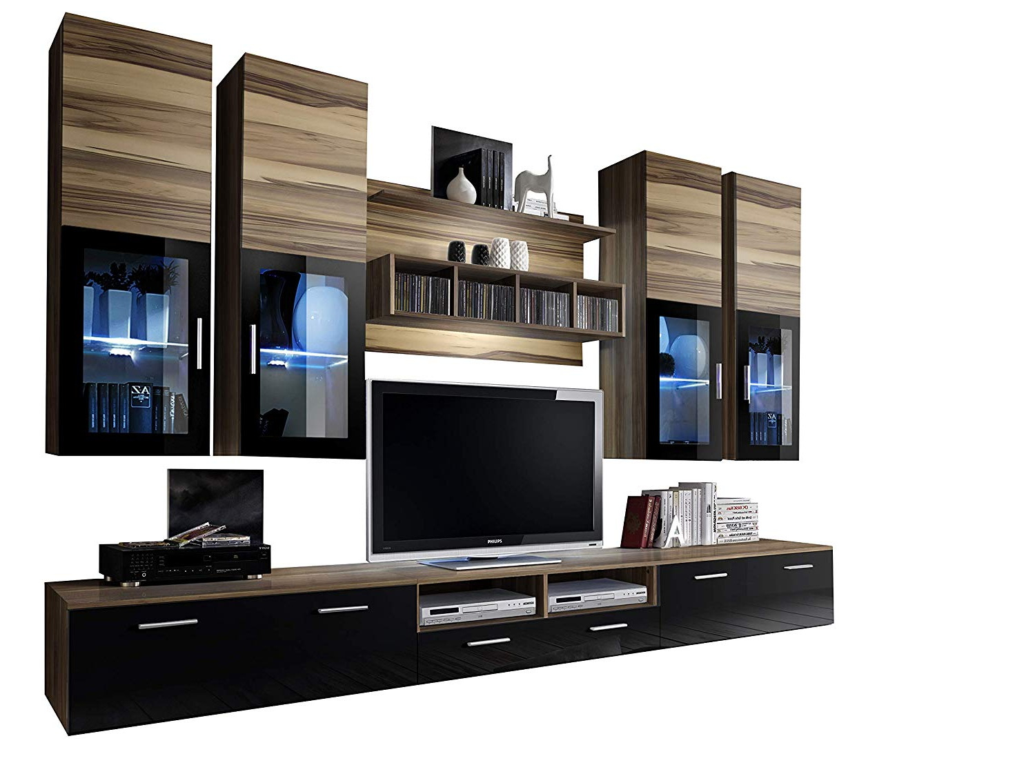 Well Liked Cheap Wall Unit Tv Stands, Find Wall Unit Tv Stands Deals On Line At In Tv Cabinets And Wall Units (View 17 of 20)