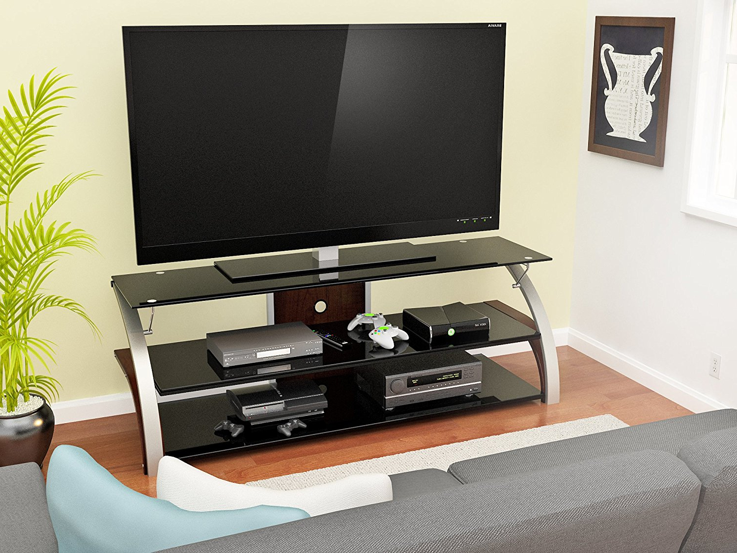 Well Liked Contemporary 55 Inch Tv Stand Amazon: Z Line Designs – Furnish Ideas Pertaining To Tv Stands For 55 Inch Tv (View 6 of 20)