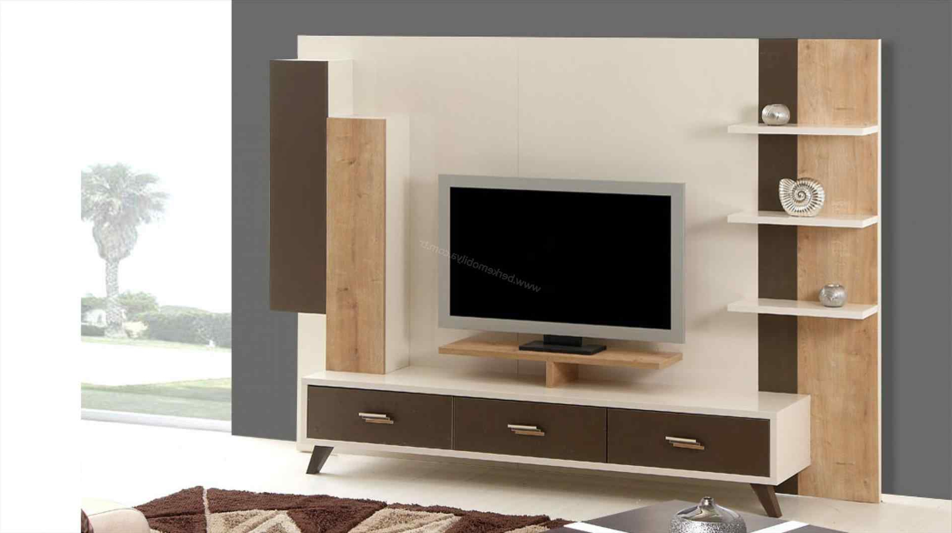 Well Liked Cool Tv Stands Within Inspiring Cool Modern Tv Stand For Flat Screen With Single Tempered (View 8 of 20)