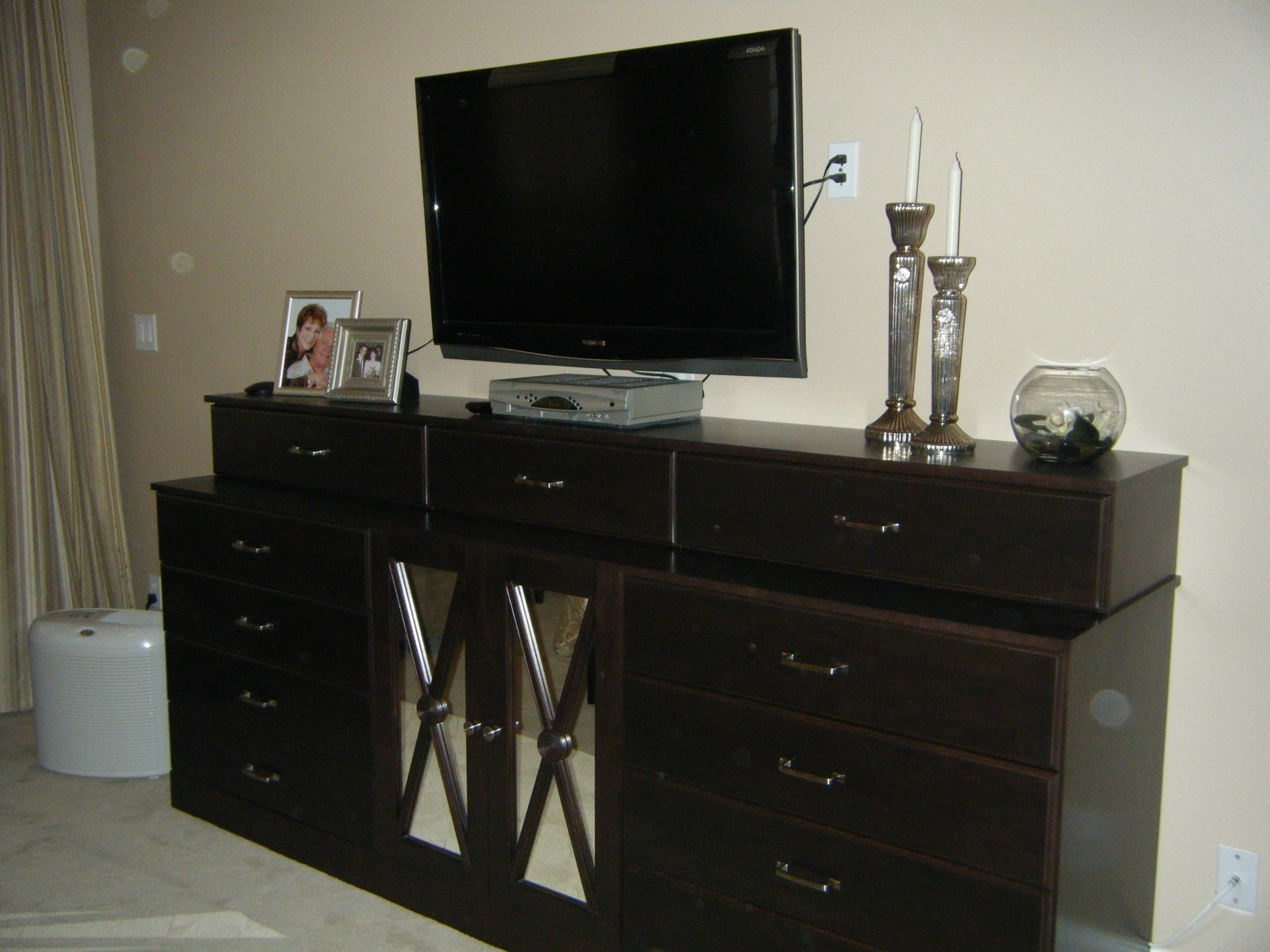 Well Liked Dresser And Tv Stands Combination Intended For Bedroom Wood Wardrobe Cabinet Tall Dresser Tv Stand Armoire Dresser (View 19 of 20)