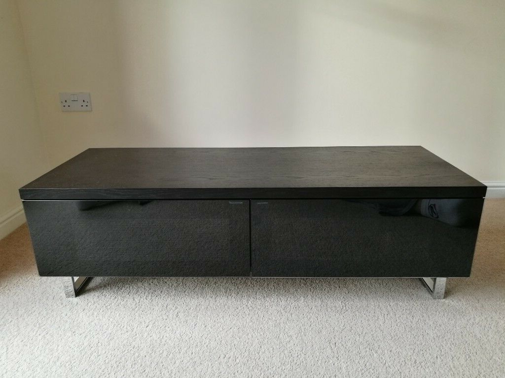 Well Liked High End Techlink Panorama Pm120 Black Tv Stand For Tvs Up To 60 Within Panorama Tv Stands (View 19 of 20)