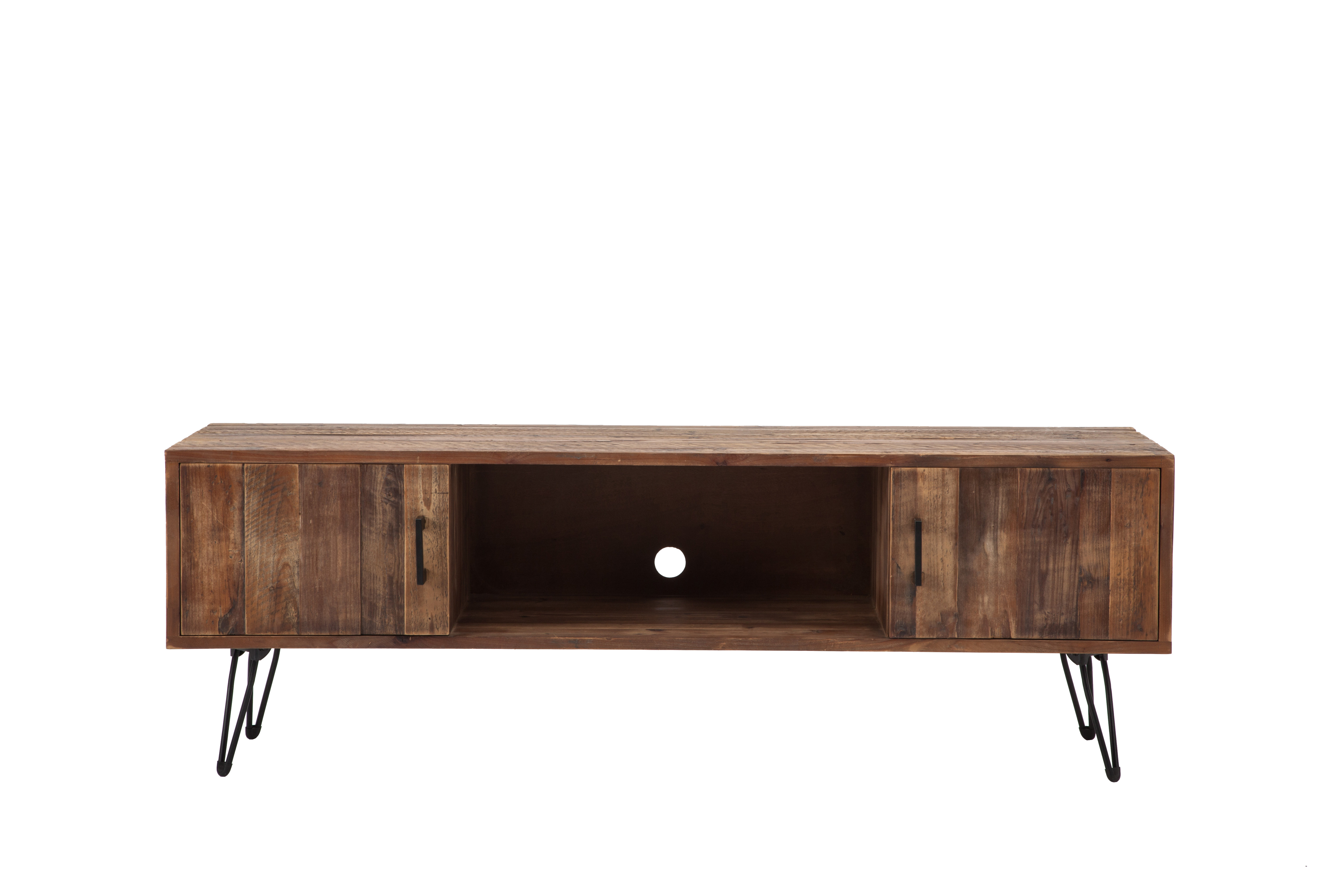 Well Liked Long Low Tv Cabinets Intended For Modern & Contemporary Long Low Media Cabinets (View 18 of 20)