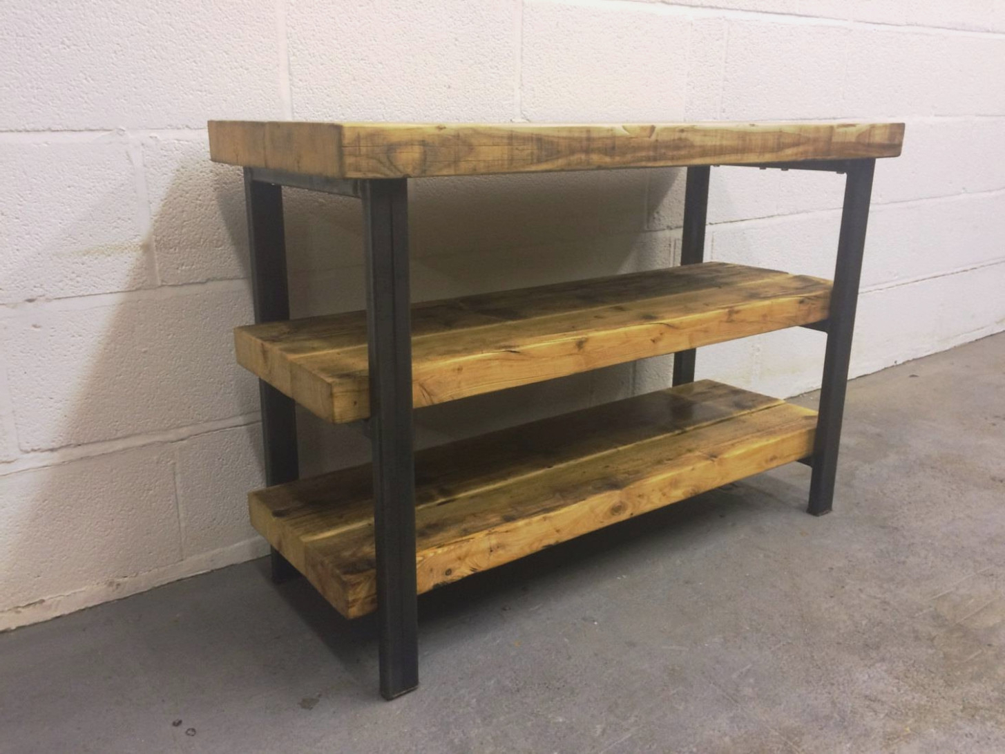 Featured Photo of Wood And Metal Tv Stands