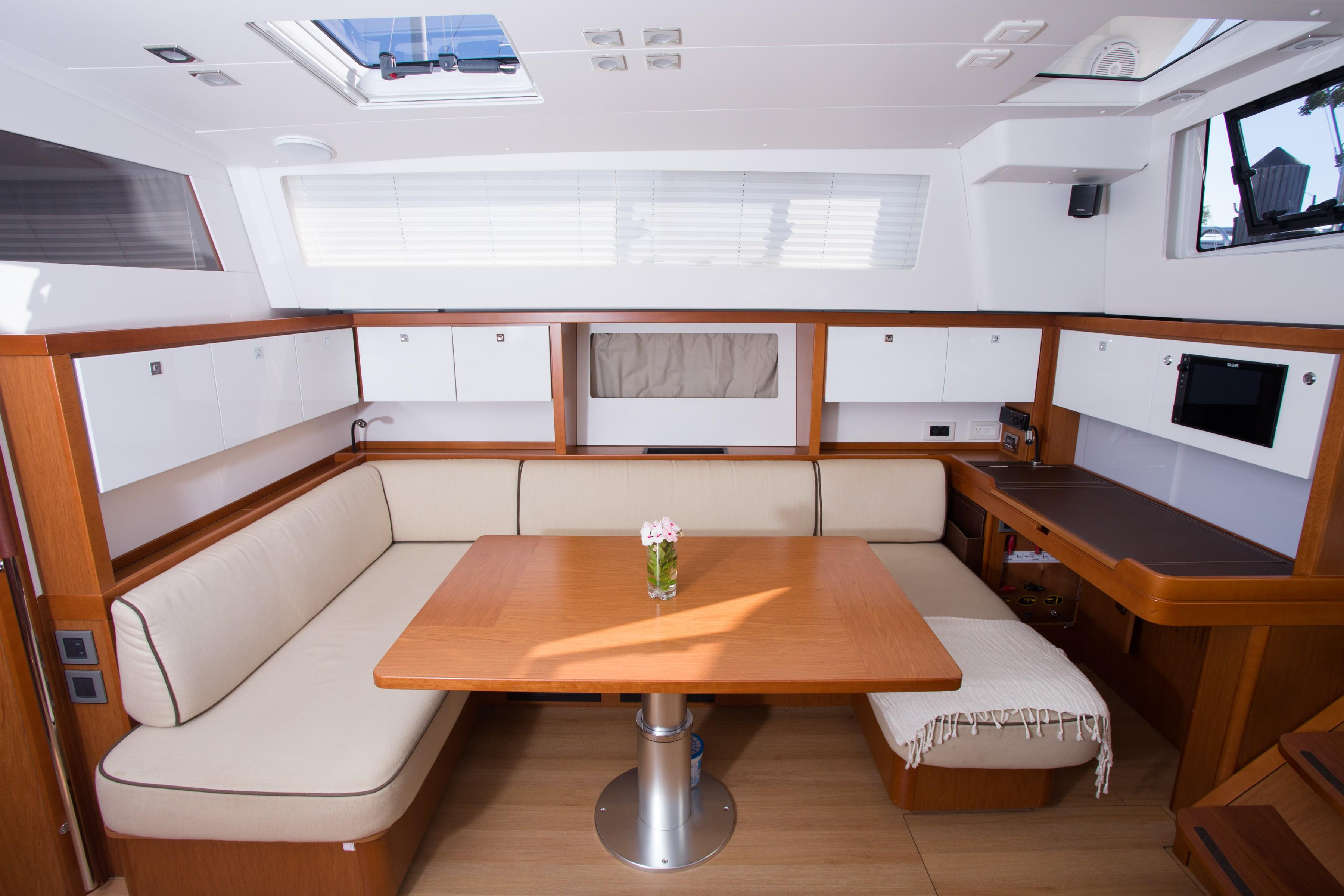 Well Liked Mikelson Media Console Tables Throughout Summer Wind Beneteau 2015 Sense 55 55 Yacht For Sale In Us (View 17 of 20)