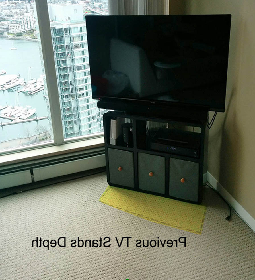 Well Liked Modular Tv Stands Furniture In Slim Modular Tv Stand That Fits Anywhere (View 20 of 20)