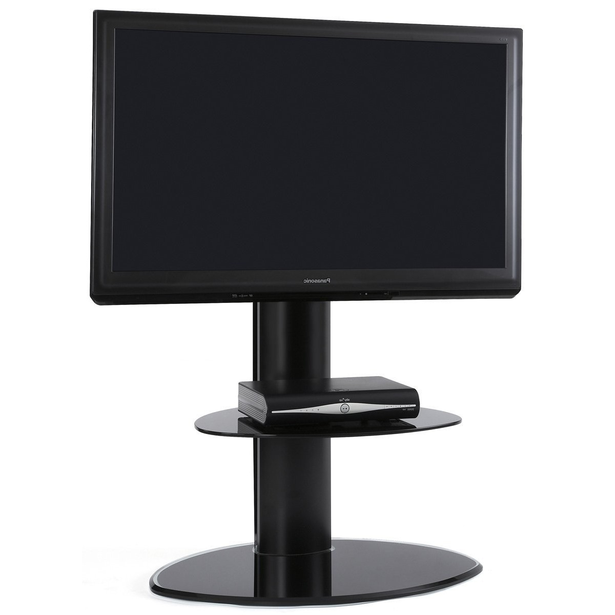 Well Liked Off The Wall Motion Black Cantilever Tv Stand – Only £ (View 20 of 20)