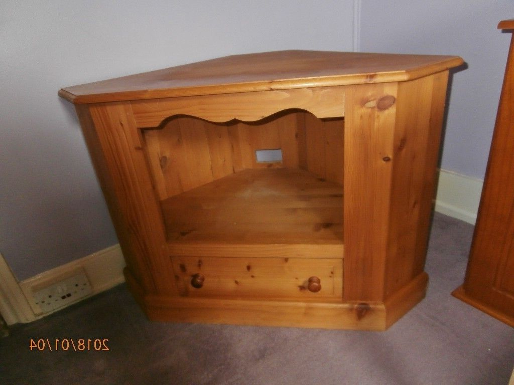 Well Liked Pine Corner Tv Stand With Drawer (View 19 of 20)
