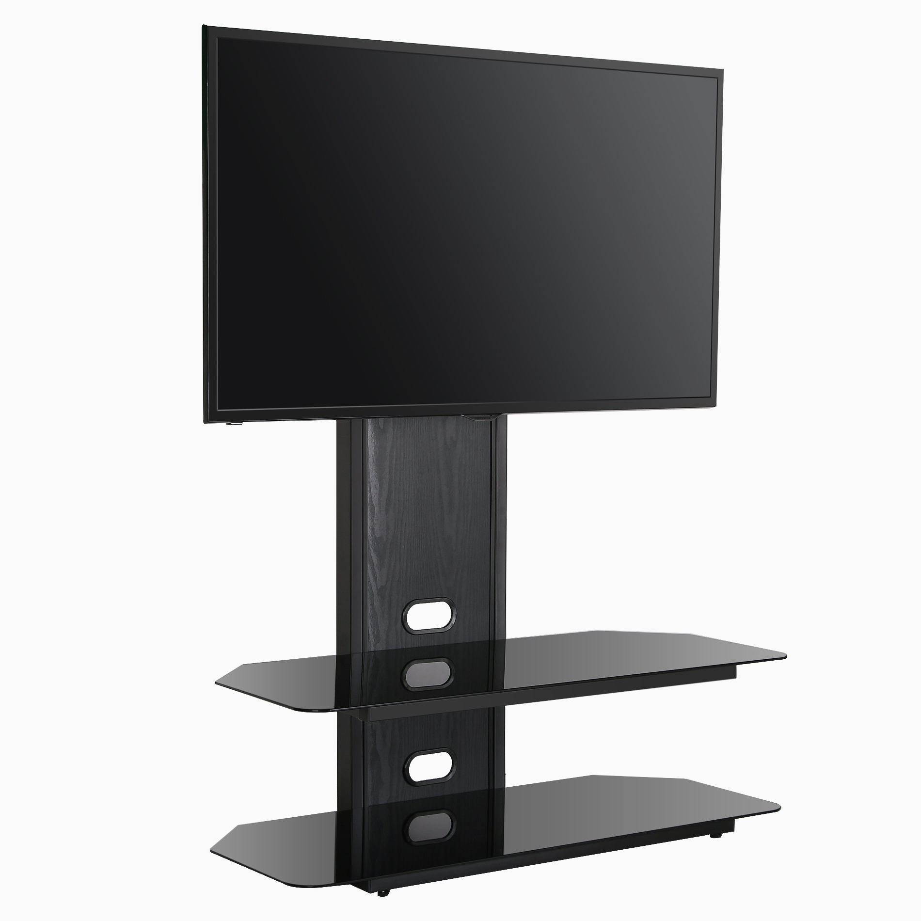 Well Liked Swivel Tv Riser With Regard To Furniture: Modern Swivel Tv Stand For Your Living Room (View 20 of 20)