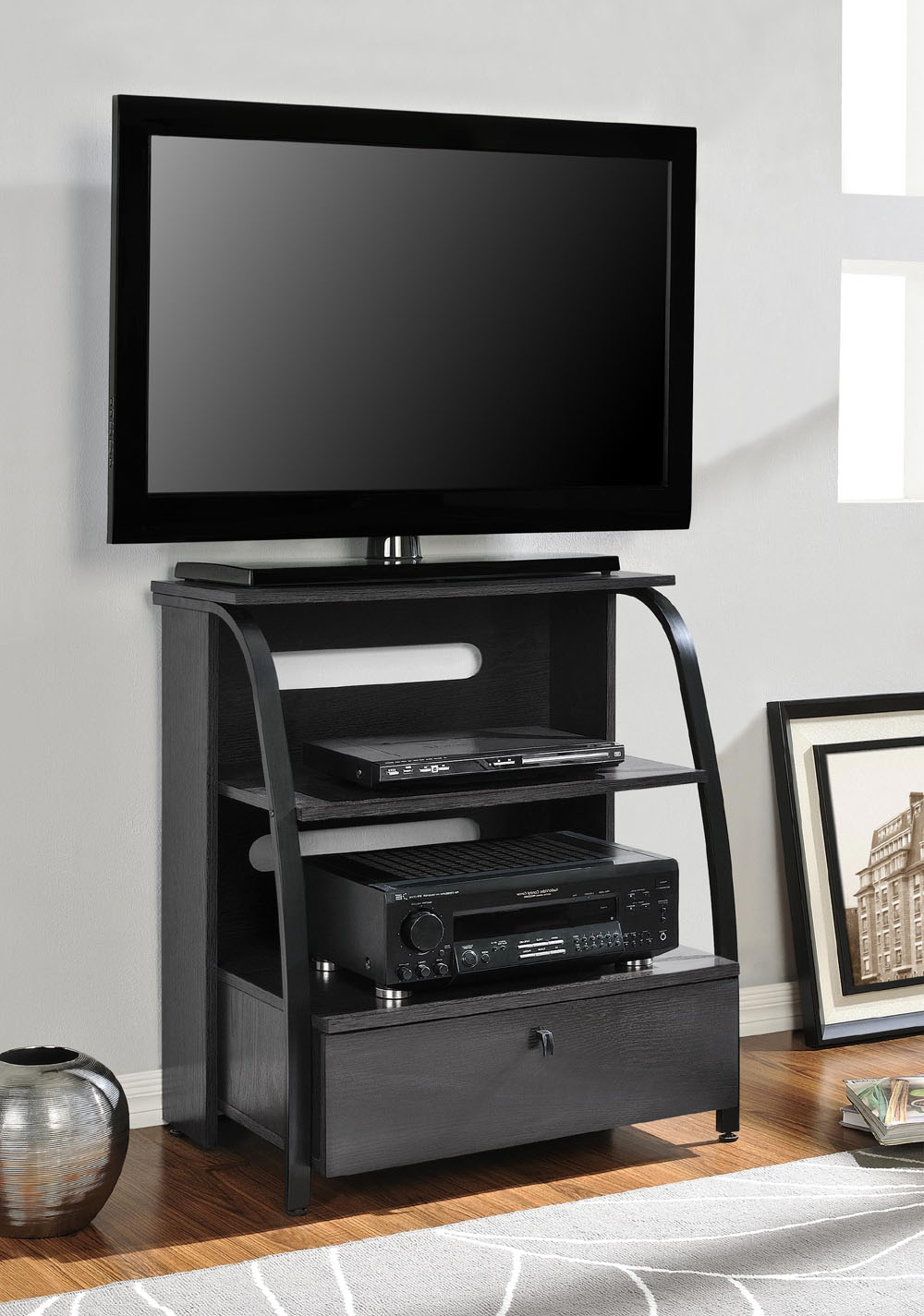Well Liked Tall Narrow Tv Stands For Tall Narrow Tv Stand For Bedroom On Bedroom Corner Tv Stand Tall (View 12 of 20)