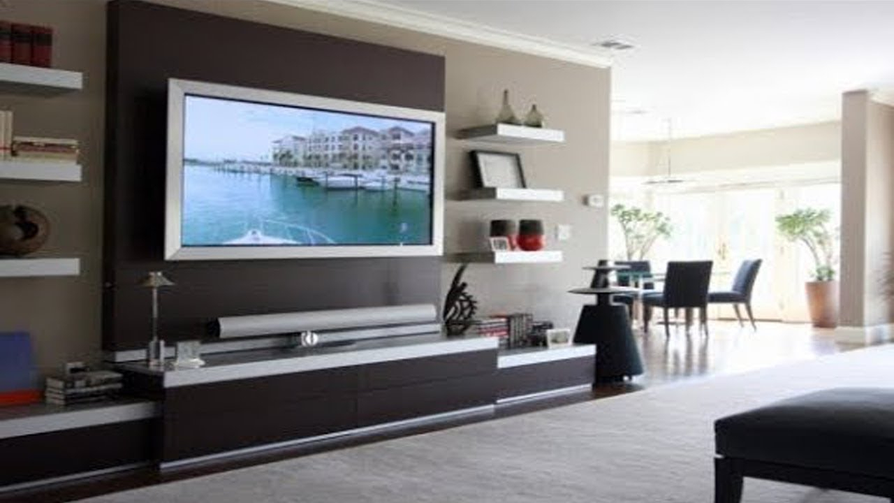 Well Liked Wall Tv Stand Design Mount Cabinet Ideas Led Simple Hanging Designs Inside Modern Wall Mount Tv Stands (View 12 of 20)