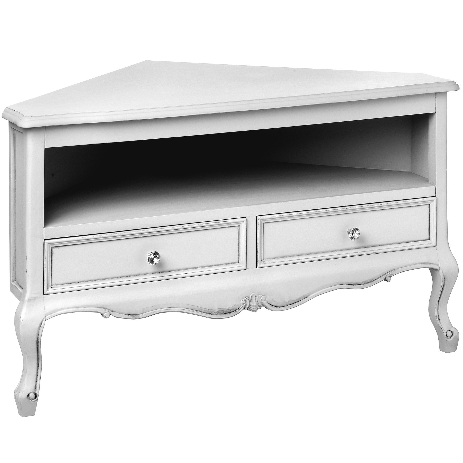 Well Liked White Painted Tv Cabinets For French Tv Stands You'll Love (View 13 of 20)