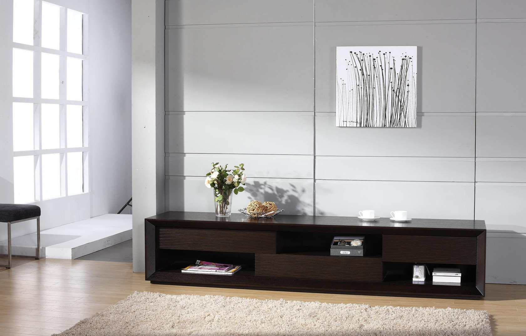 Wenge Tv Cabinets In Trendy Assym Tv Tv Stand Assym Beverly Hills Furniture Tv Stands (View 16 of 20)