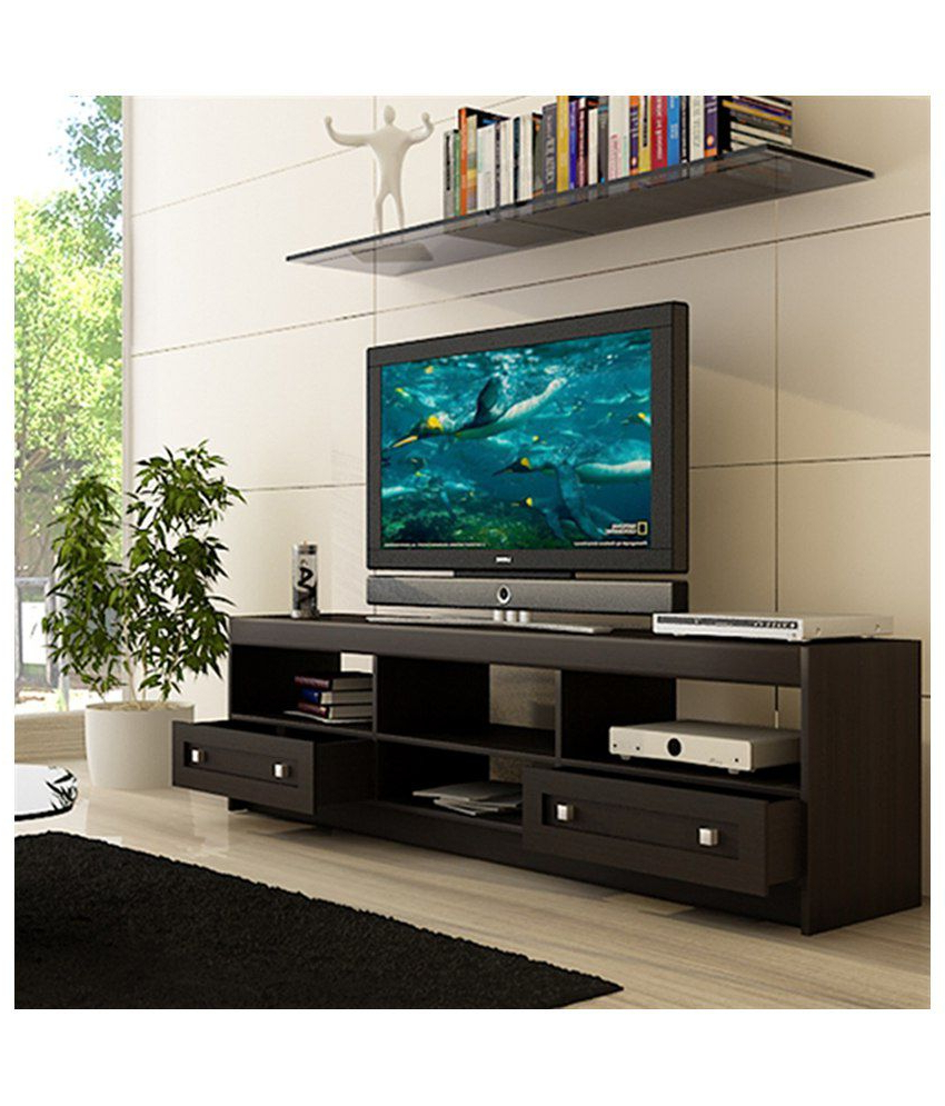 Wenge Tv Cabinets With Regard To Latest Housefull Brooke Tv Cabinet In Wenge Finish – Buy Housefull Brooke (View 19 of 20)