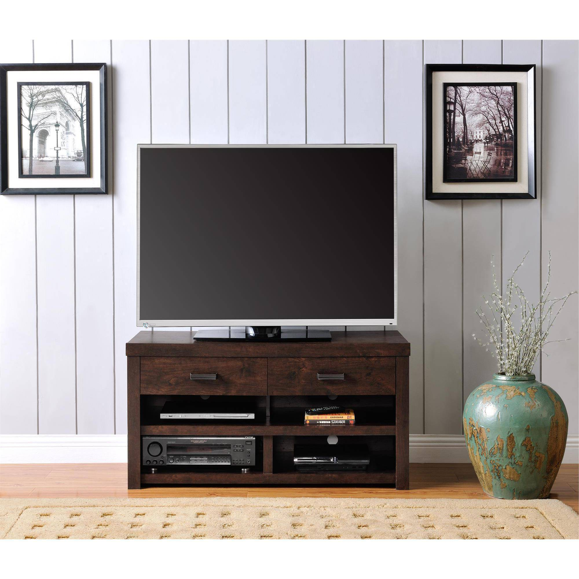 "Westbrook Tv Stand For Tvs Up To 42"", Dark Walnut  (View 20 of 20)"