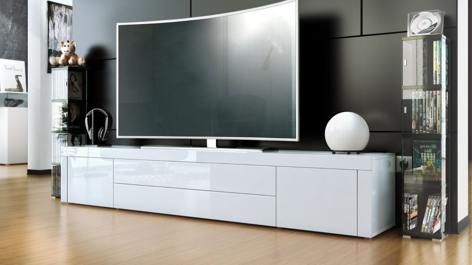 White Contemporary Tv Stands Pertaining To Well Liked Target Tv Stands Industrial Stand Diy Modern Wall Unit Designs (View 19 of 20)