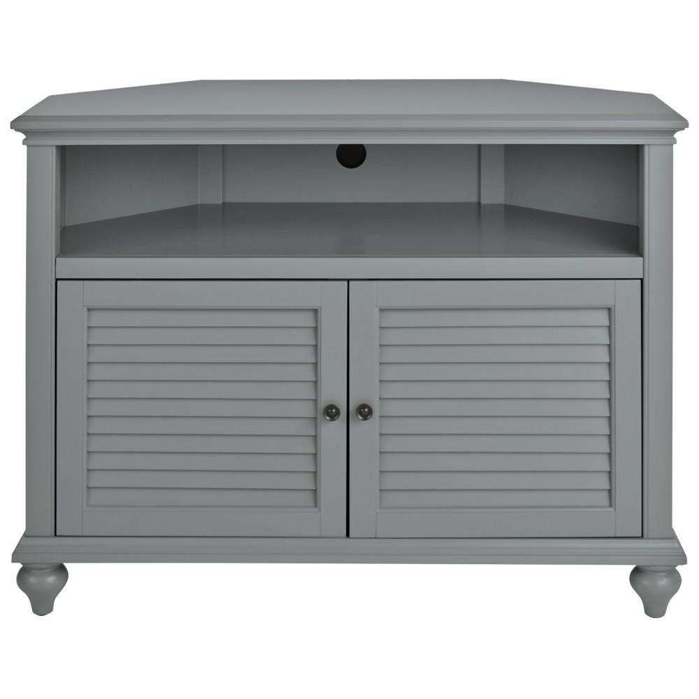 White Corner Tv Cabinets Regarding 2018 Home Decorators Collection Hamilton 31 In (View 15 of 20)
