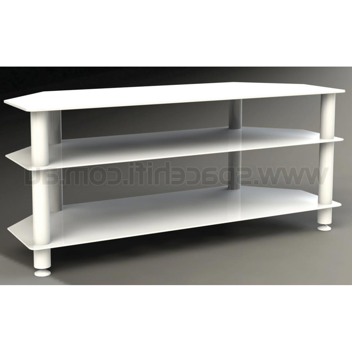 White Glass Tv Stands Inside Newest White And Glass Tv Stand Modern High Gloss Wood Ikea Uk With Led (View 17 of 20)