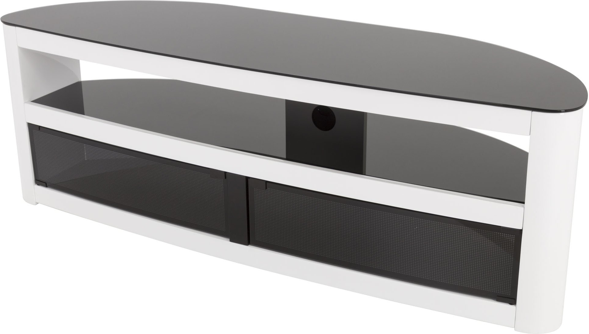 White High Gloss Tv Stands In 2017 Avf Fs1500Burgw Tv Stands (View 15 of 20)