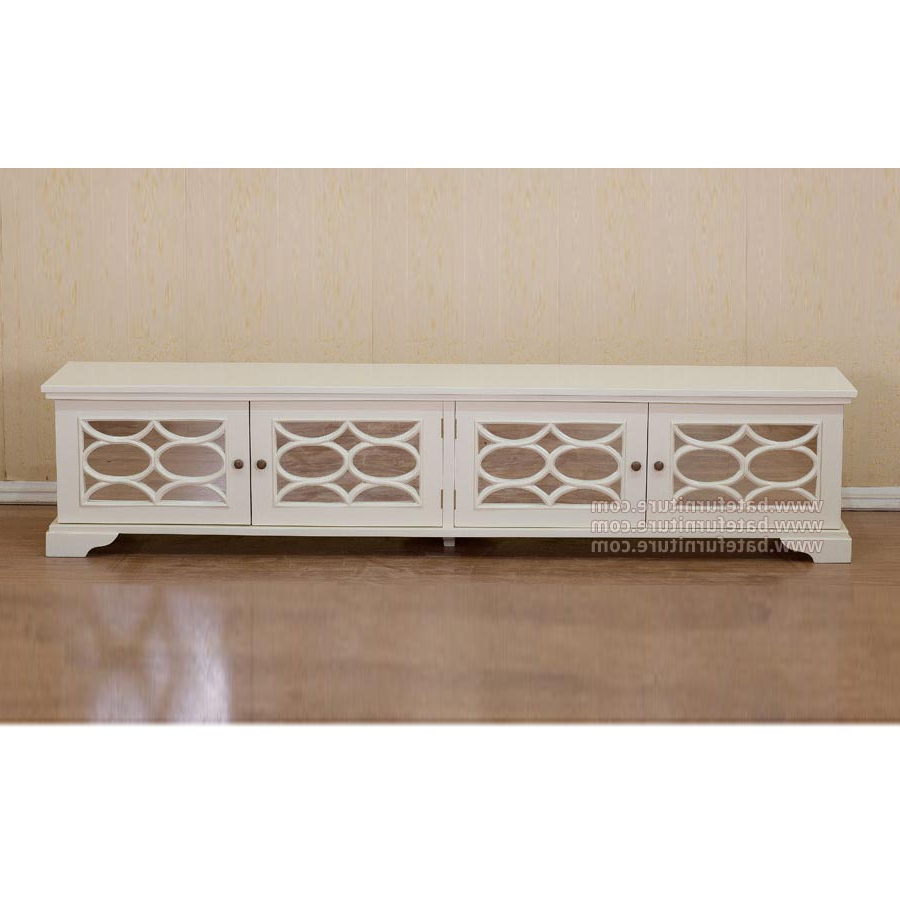 White Painted Tv Cabinet 210 – French Reproductions Furniture In Favorite White Painted Tv Cabinets (View 12 of 20)