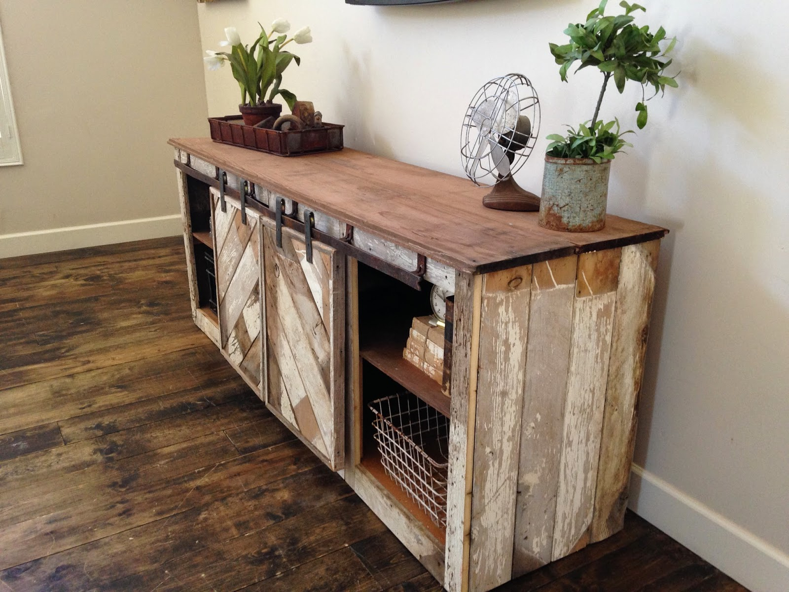 White Rustic Tv Stands With Best And Newest Corner Tv Stand With Sliding Barn Doors Cabinet Plus Entertainment (View 9 of 20)