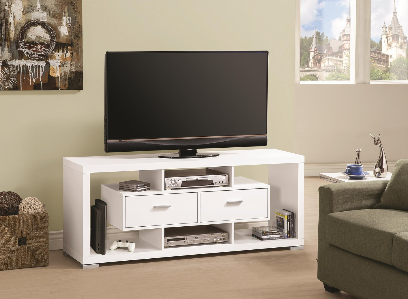 White Tv Stands For Flat Screens Inside Preferred 80 Inch Tv Stand Best Buy Modern Flat Screen Base Target Stands (View 14 of 20)