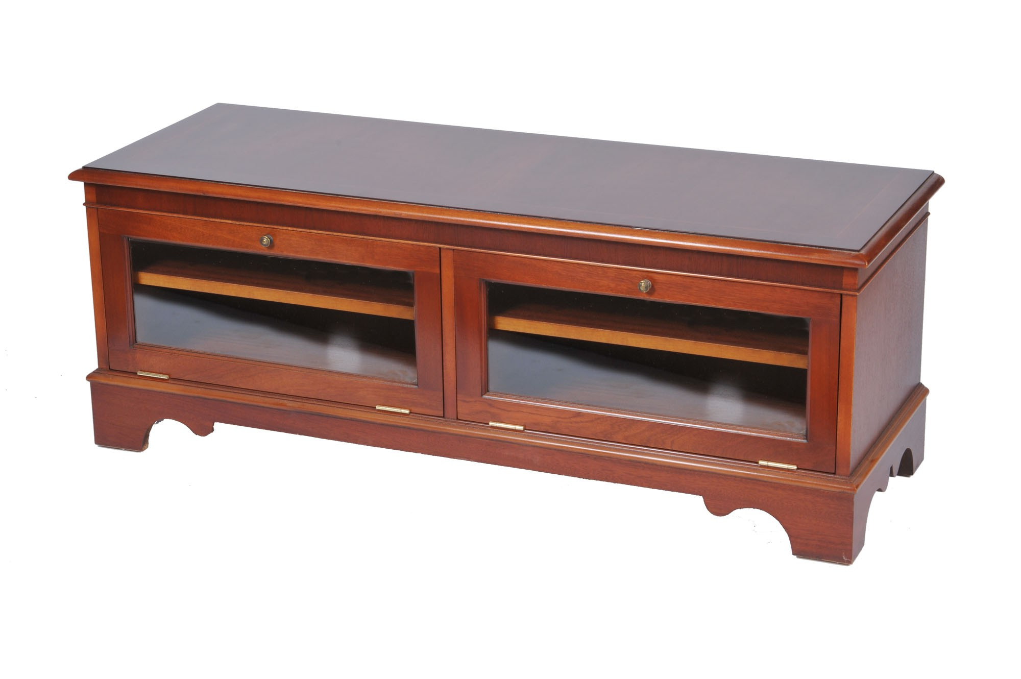 Wide Screen Tv Stands For Well Known Bradley Mahogany 924 Wide Screen Tv Stand (View 18 of 20)
