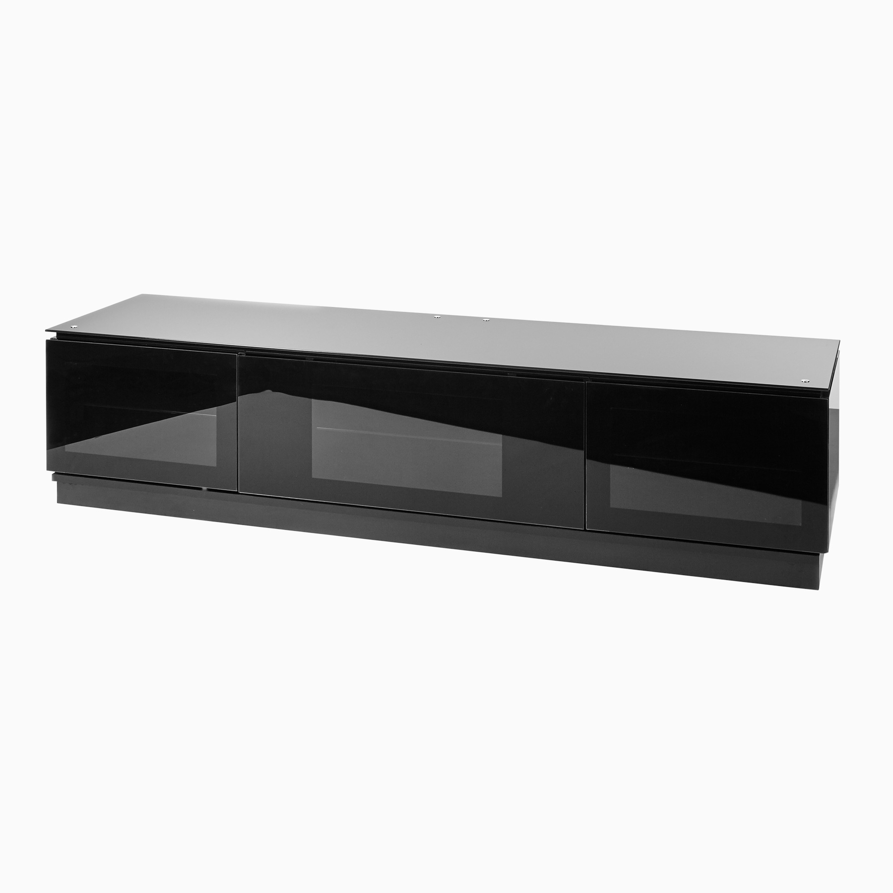 Widely Used Black Gloss Tv Unit Up To 80 Inch Flat Screen Tv (View 10 of 20)