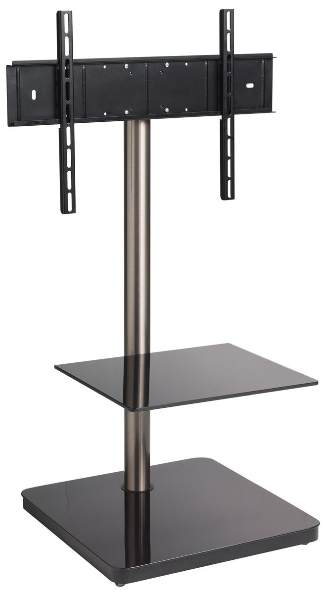 Widely Used Cantilever Tv Stands Inside B Tech Btf800 Black Cantilever Tv Stand (View 1 of 20)