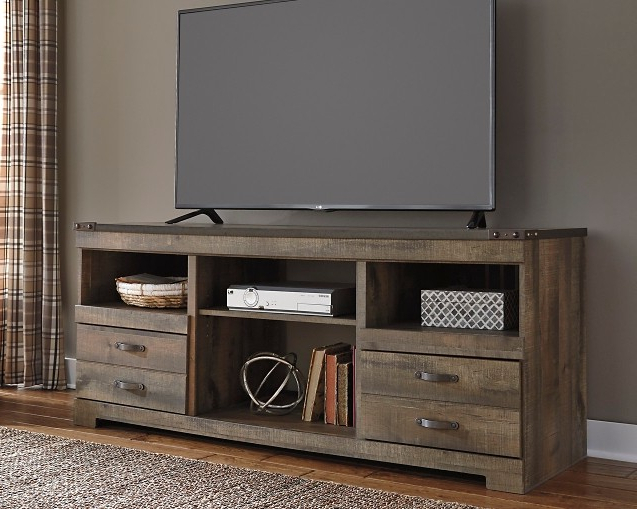 Widely Used Fancy Tv Stands Inside Trinell 63 – Large Tv Stand (View 20 of 20)