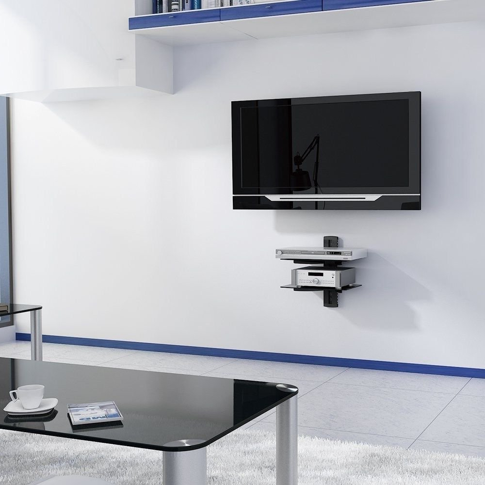 Widely Used Floating Shelf For Wall Mounted Tv – Wall Ideas Intended For Shelves For Tvs On The Wall (View 8 of 20)