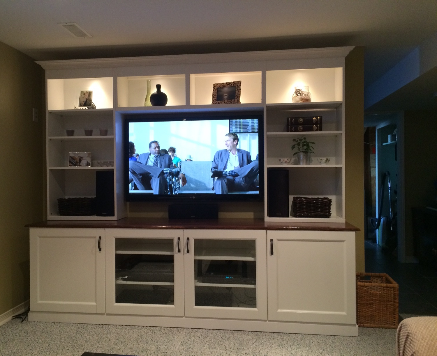 Widely Used Furniture: Display Space For Audio Components And Collectibles With With Regard To Ikea Wall Mounted Tv Cabinets (View 19 of 20)
