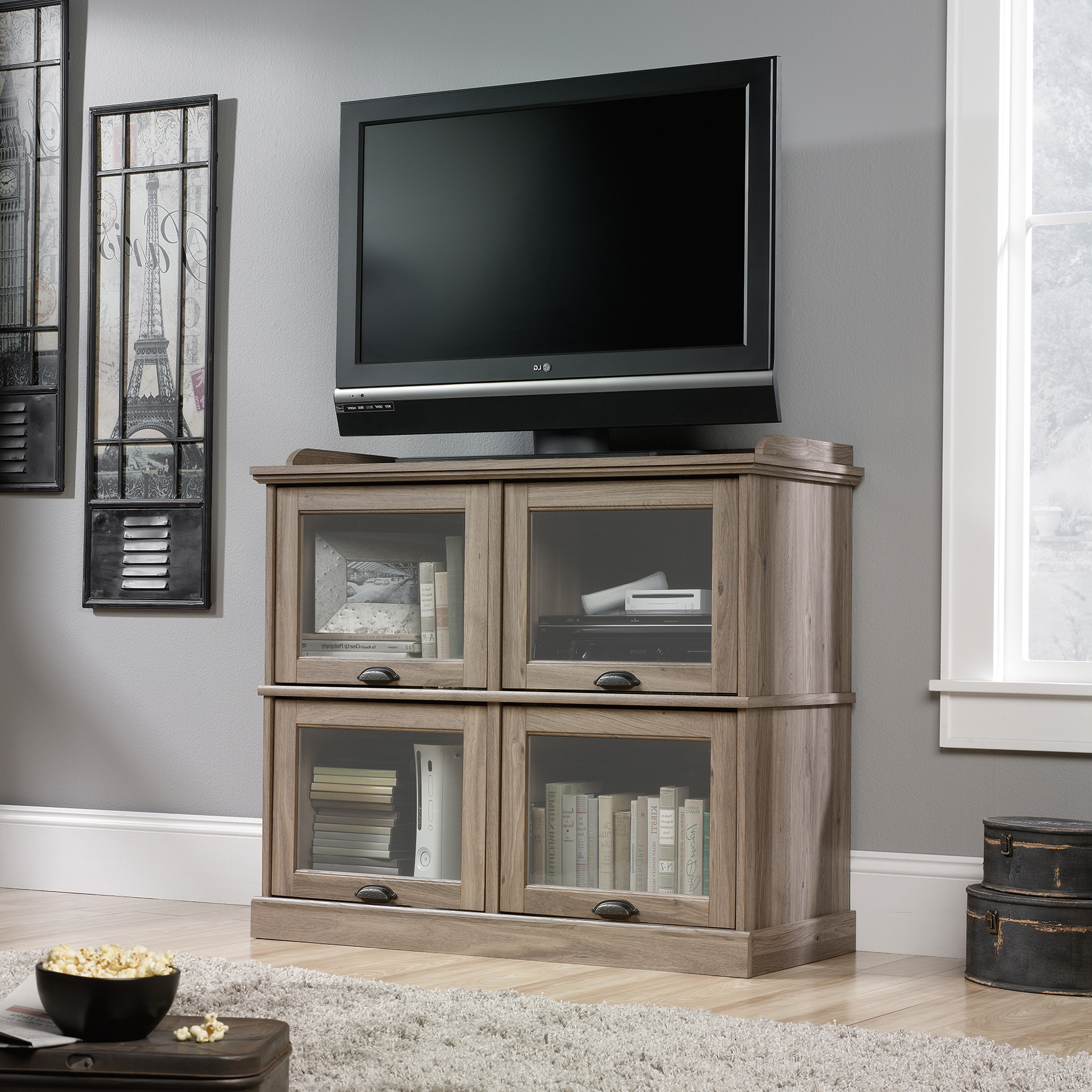 Widely Used Highboy Tv Stands In Sauder Highboy Tv Stand (414720) – Sauder – The Furniture Co (View 20 of 20)