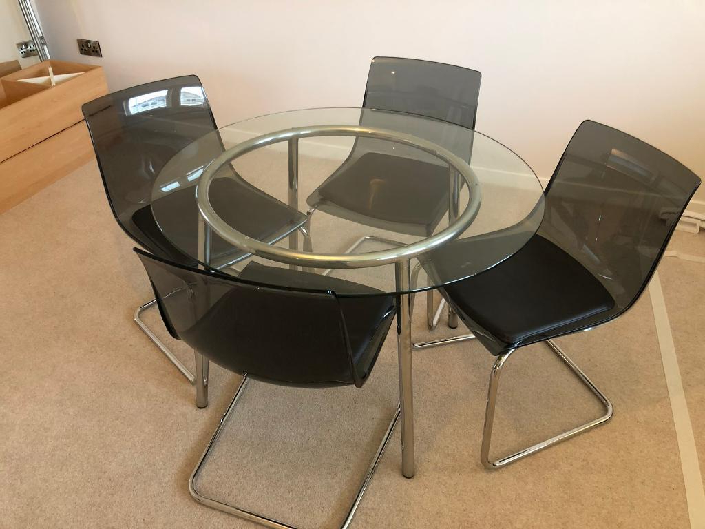 Widely Used Ikea Salmi & Tobias Dining Table/chair Set (Gallery 13 of 20)