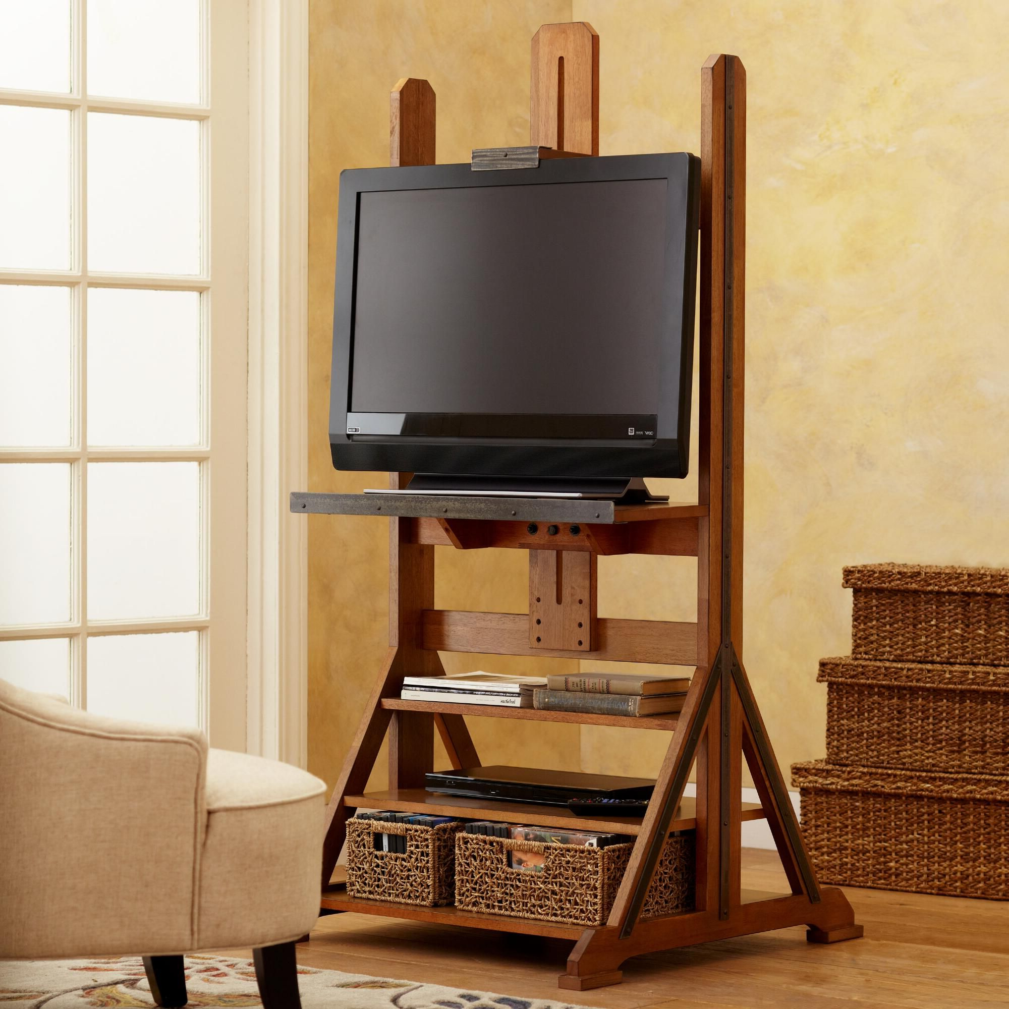 Featured Photo of Easel Tv Stands For Flat Screens