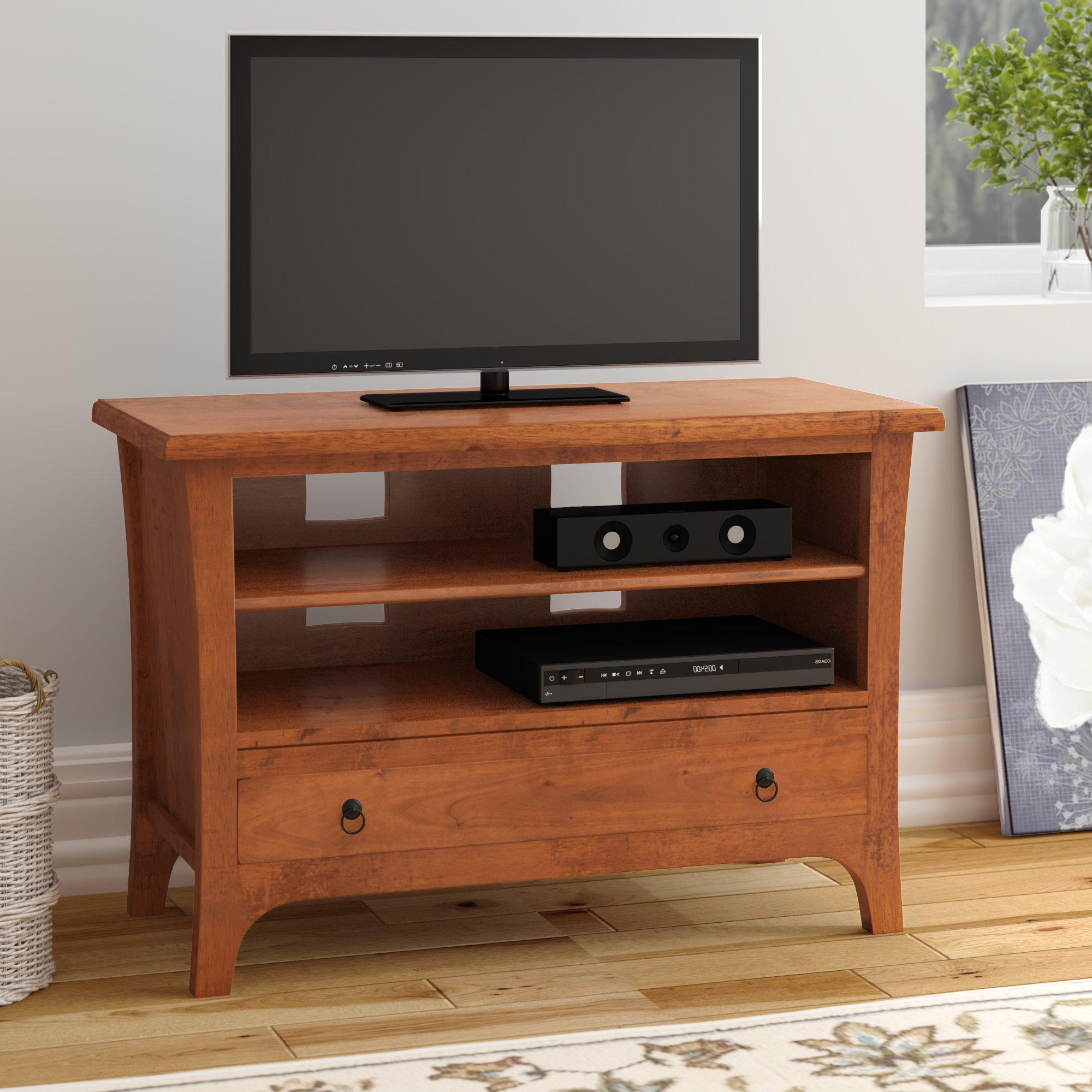Widely Used Mahogany Tv Stands & Entertainment Units You'll Love (View 20 of 20)