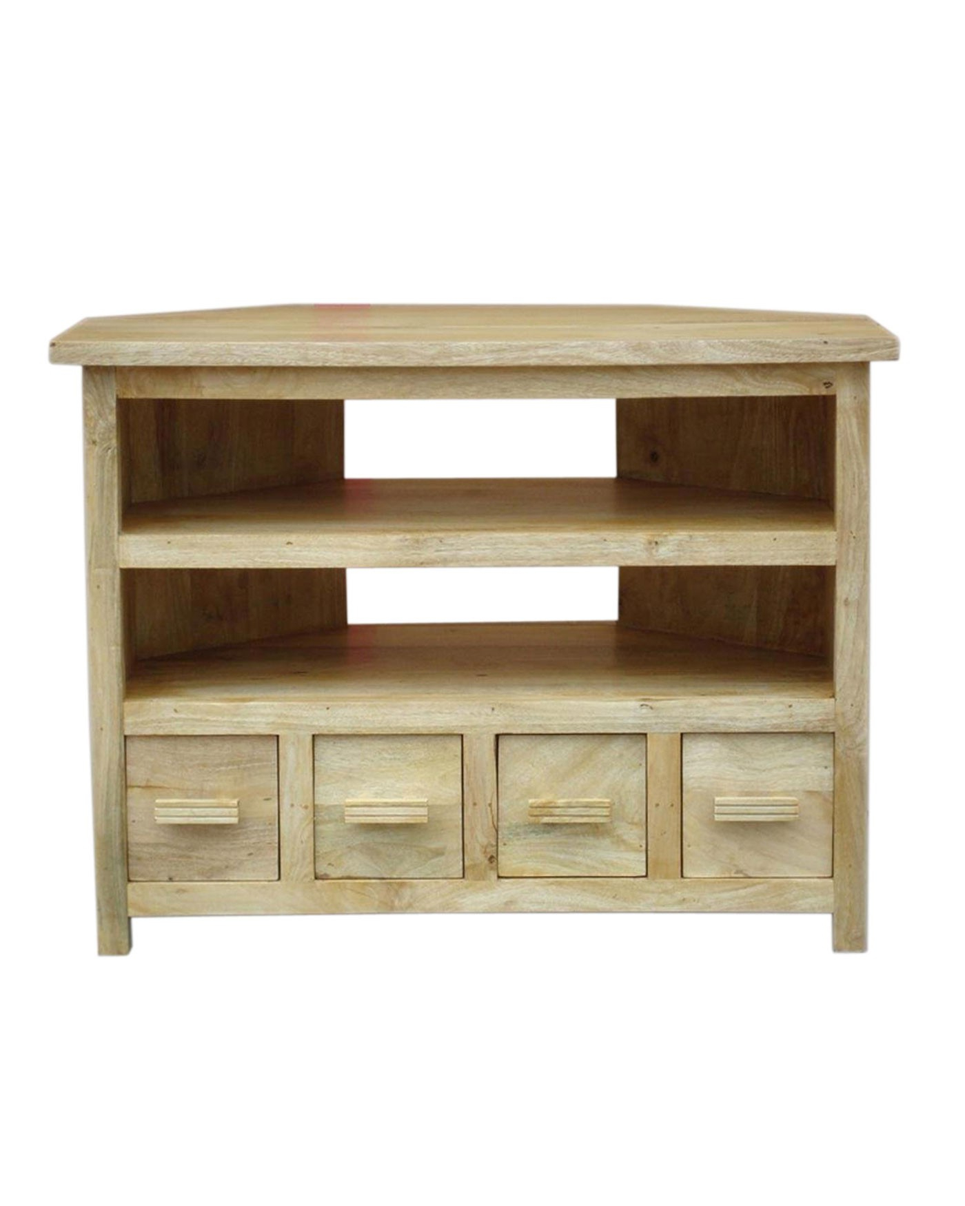 Widely Used Mangat Tall Corner Tv Unit Oak Shade – Homescapes In Tall Tv Cabinets Corner Unit (View 15 of 20)