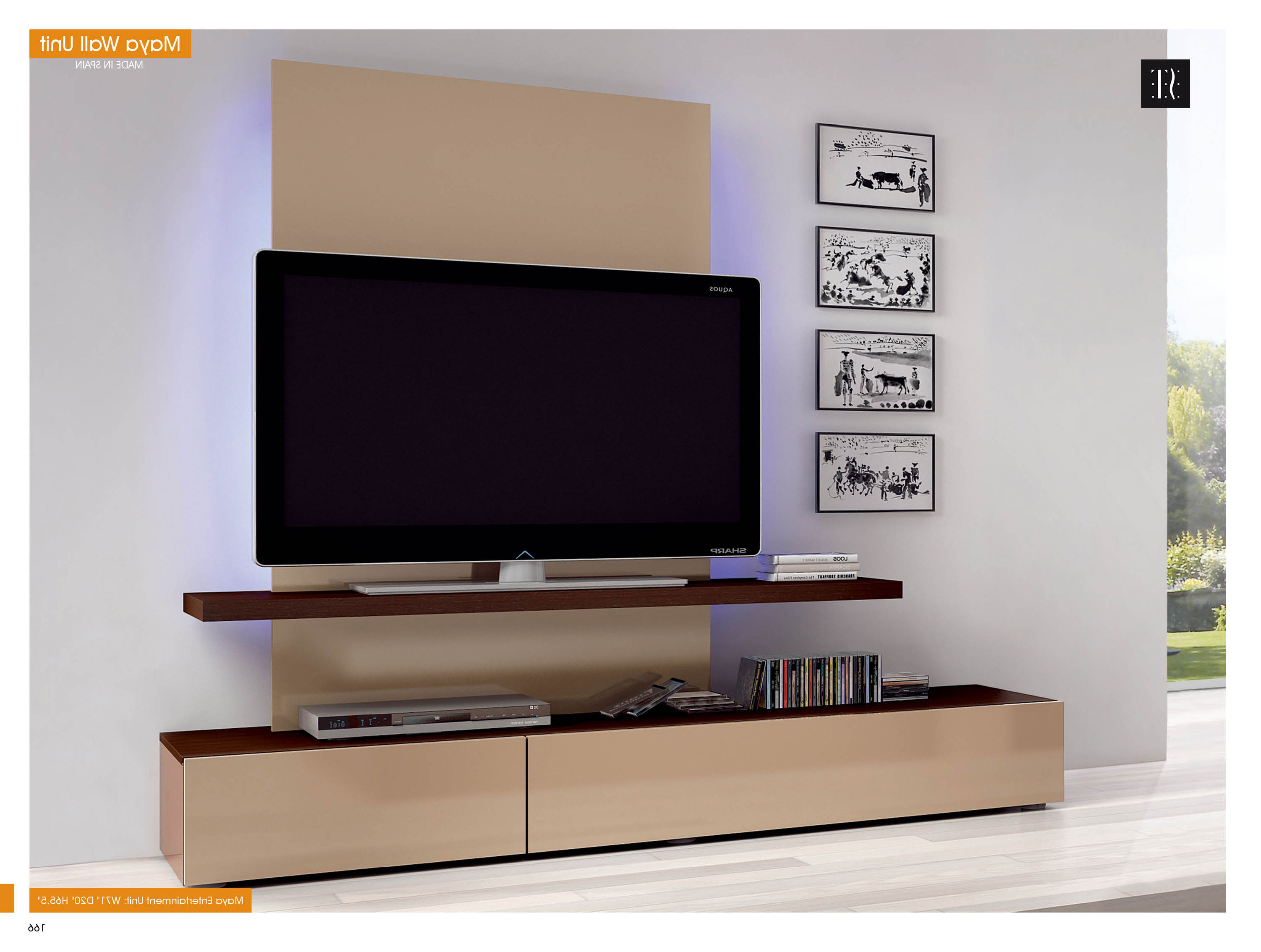 Widely Used Modern Maya Wall Unit – Furniture Store Toronto Throughout Tv Entertainment Wall Units (View 17 of 20)