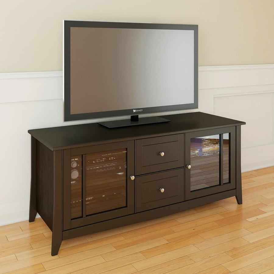 Widely Used Nexera Elegance Espresso Tv Cabinet At Lowes For Nexera Tv Stands (View 20 of 20)