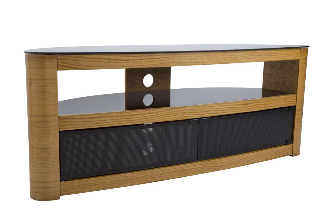 Widely Used Oak Tv Stands With Avf Burghley Fs1250 Oak Tv Stand (View 11 of 20)